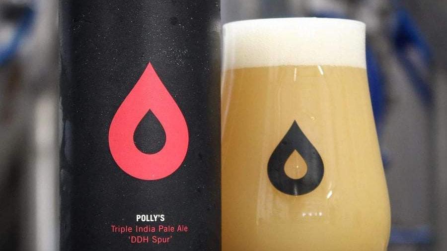 POLLY'S  - DDH SPUR TRIPLE IPA (440ml) 10%abv
