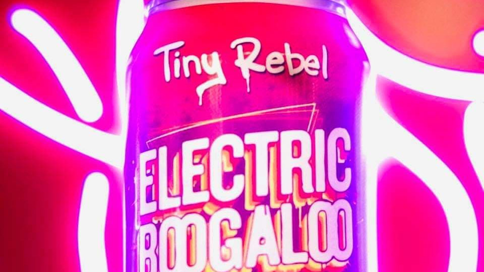 TINY REBEL - ELECTRIC BOOGALOO PASSION FRUIT NEIPA (330ml) 4.5% abv