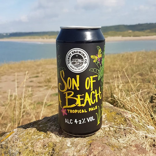 TENBY BREWERY-SON OF A BEACH (440ml can) 4.2%abv