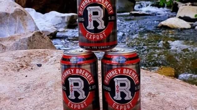 3 x RHYMNEY - EXPORT (330ml cans) 5.0% abv