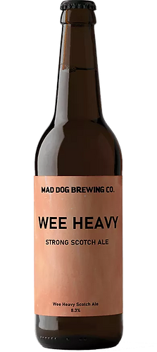 MAD DOG BREWERY - WEE HEAVY SCOTCH ALE (330ml) 8.3% abv