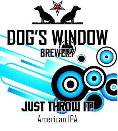 DOG'S WINDOW - JUST THROW IT (440ml) 5.8% abv