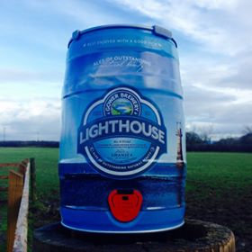 GOWER - LIGHTHOUSE LAGER 4.5% abv 9 pint mini keg