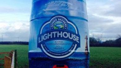 GOWER - LIGHTHOUSE LAGER 4.5% abv 9 pint mini keg