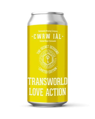 CWRW IAL  - TRANSATLANTIC LOVE ACTION (440ml) 5%abv