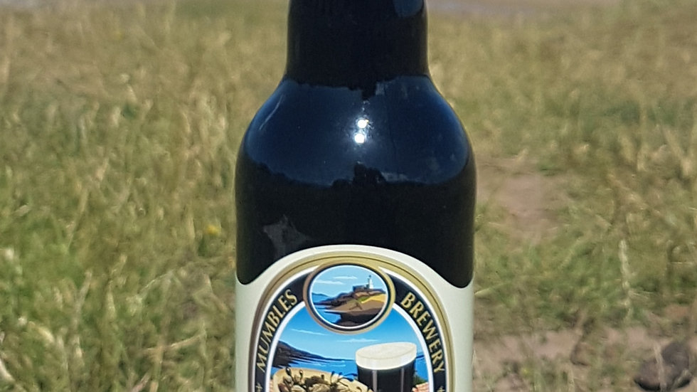 MUMBLES - OYSTERMOUTH STOUT (500ml) 4.4% abv