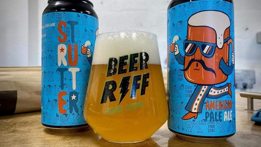 BEER RIFF  - STRUTTER (440ml) 4.5%abv