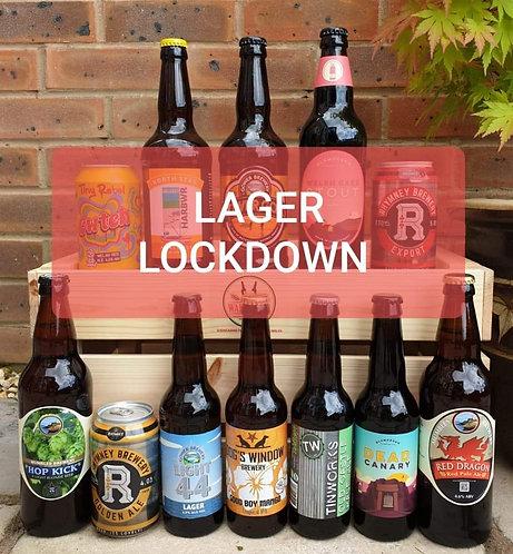 LAGER LOCK DOWN BUMPER PACK (12 beers)