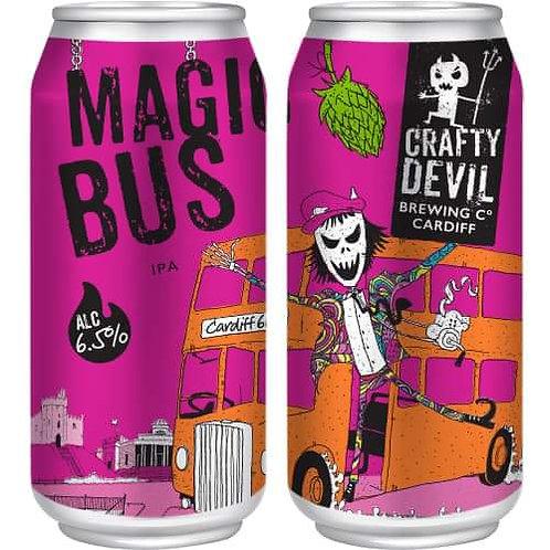 CRAFTY DEVIL  - MAGIC BUS WEST COAST IPA (440ml) 6.5%abv