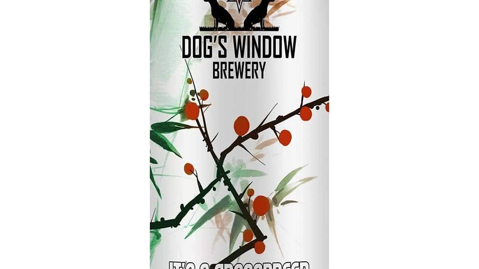 DOG'S WINDOW  - CROSSBREED IMPERIAL PORTER  (440ml) 7.2%abv