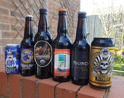 THE DELUXE CHOCOLATE BOX - 6 CHOCOLATE BEERS