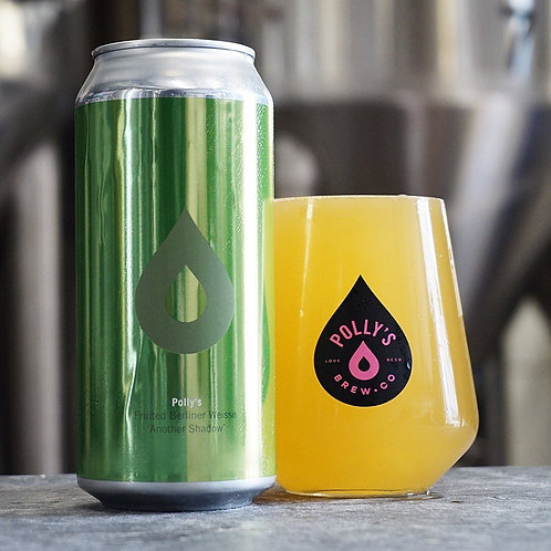 POLLY'S - ANOTHER SHADOW FRUITED BERLINER WEISSE SOUR (440ml) 4.2% abv