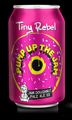 TINY REBEL-PUMP UP THE JAM (330ml) 5%abv