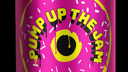 TINY REBEL-PUMP UP THE JAM (330ml) 5%abv