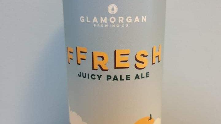 GLAMORGAN - FFRESH JUICY PALE ALE (440ml can) 4.6% abv
