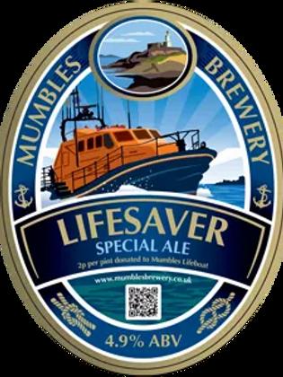 MUMBLES  - LIFESAVER  (500ml) 4.9%abv