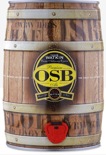 9 PINT MINI KEG - TOMOS WATKIN - OSB 4.5%abv