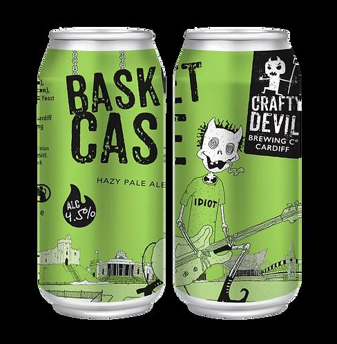 CRAFTY DEVIL  - BASKET CASE HAZY PALE ALE (440ml) 4.5%abv