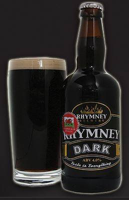 RHYMNEY - DARK (500ml) 4%abv