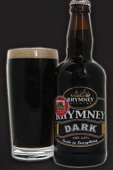 RHYMNEY - DARK (500ml) 4%abv