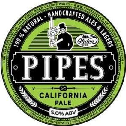 PIPES - CALIFORNIA PALE (500ml) 5%abv