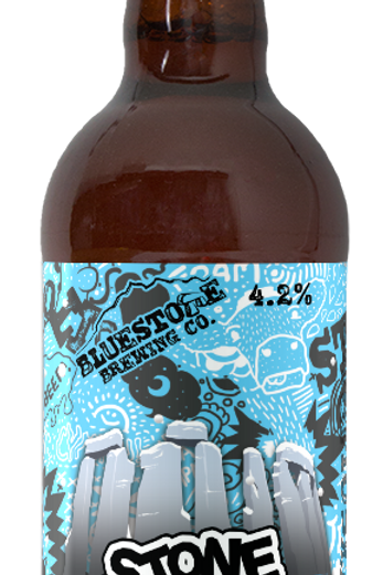 BLUESTONE-STONE COLD IPA (500ml) 4.2%abv