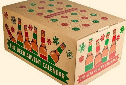 ADVENT CALENDAR (24 beers) - £64.99 deposit of £20 with balance paid in November