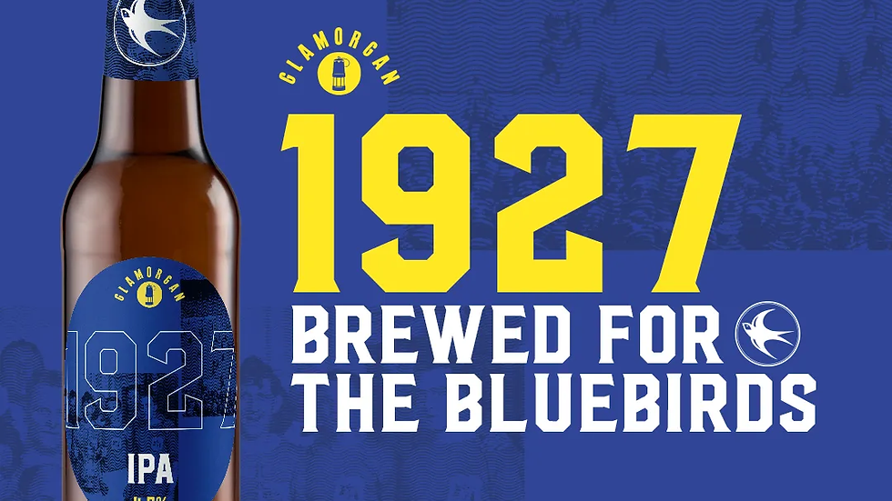 GLAMORGAN BREWERY - 1927 BLUEBIRDS BEER (500ml) 4.5%abv