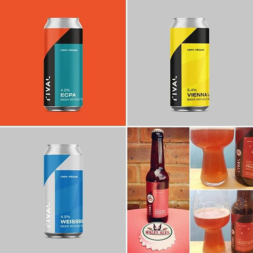 4 X RIVAL BREWERY TASTING PACK