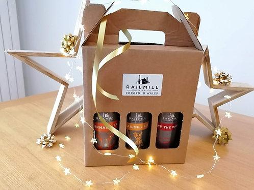 RAILMILL BREWERY GIFT SET (3  beers)