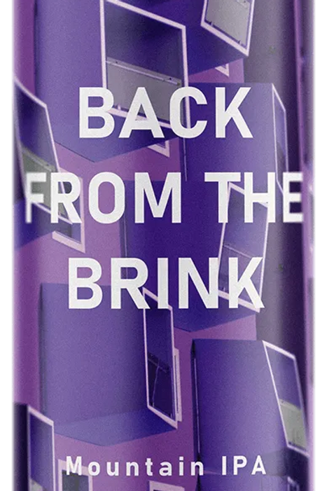 MAD DOG - BACK FROM THE BRINK WEST COAST IPA (440ml) 5.6%abv
