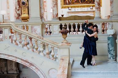 Tango Pose on Marble stair (J & R Oria)