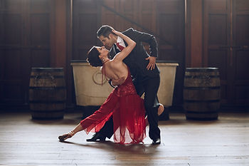 Photo of Jenny & Ricardo in tango pose