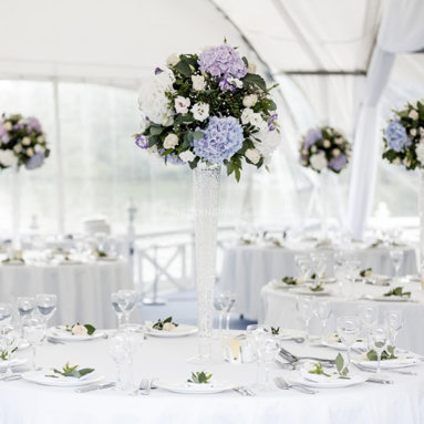 CONICAL VASE TABLE DECORATION