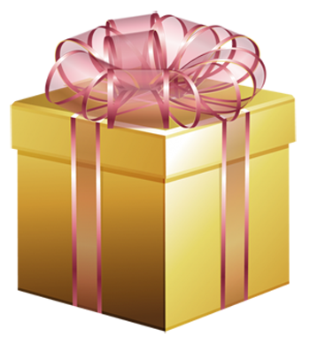 GOLD CHRISTMAS PACKAGE