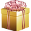 Thumbnail: GOLD CHRISTMAS PACKAGE