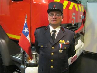 Condolencias Pompiers Valparaiso.