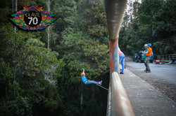 Puenting o Swing jump con Clave 70