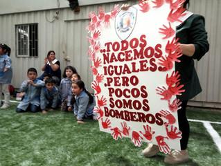 Visita del jardín infantil Arcoiris