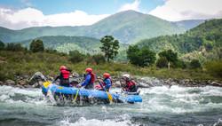 Rafting con Clave 70 en Conce