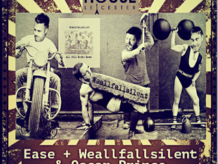 Weallfallsilent play support to Ease at The Soundhouse Leicester Friday 14th July