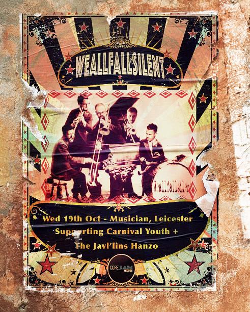 WeAllFallSilent play The Musician Leicester Oct 19th