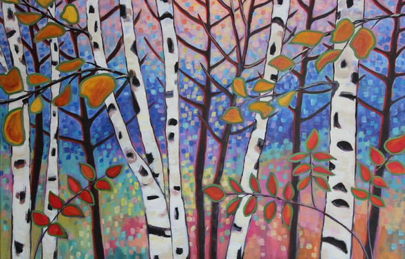 September Birches