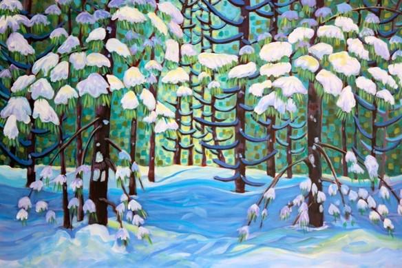 Mystic Woodlands in Winter