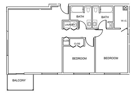 Pleasantview Place Apartment bigger 2 bedroom 2 bath