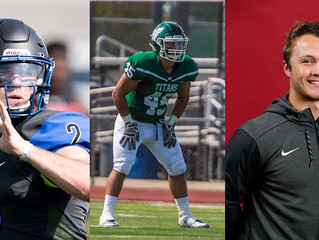 MILLIKIN'S STEPINA, ILLINOIS WESLEYAN'S HASSAN, NORTH CENTRAL'S SUTHERLAND NAMED CCIW FO