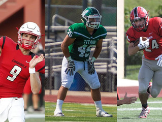 NORTH CENTRAL'S RUTTER, ILLINOIS WESLEYAN'S HASSAN, CARTHAGE'S BAZAREK NAMED CCIW FOOTBA