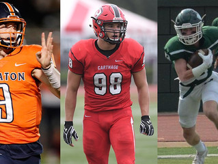 WHEATON'S MCWILLIAMS, CARTHAGE'S LAUGHLIN, ILLINOIS WESLEYAN'S KEFFER NAMED CCIW FOOTBAL