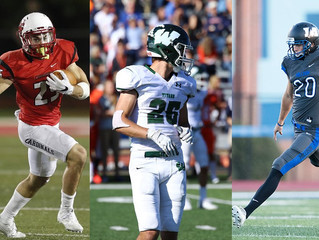 NORTH CENTRAL'S BREUNIG, ILLINOIS WESLEYAN'S STALEY, MILLIKIN'S SPELMAN NAMED CCIW FOOTB