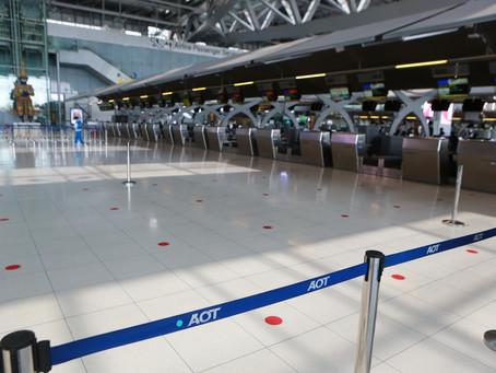 4月15日まで、タイ政府はすべての旅行による到着を禁止します